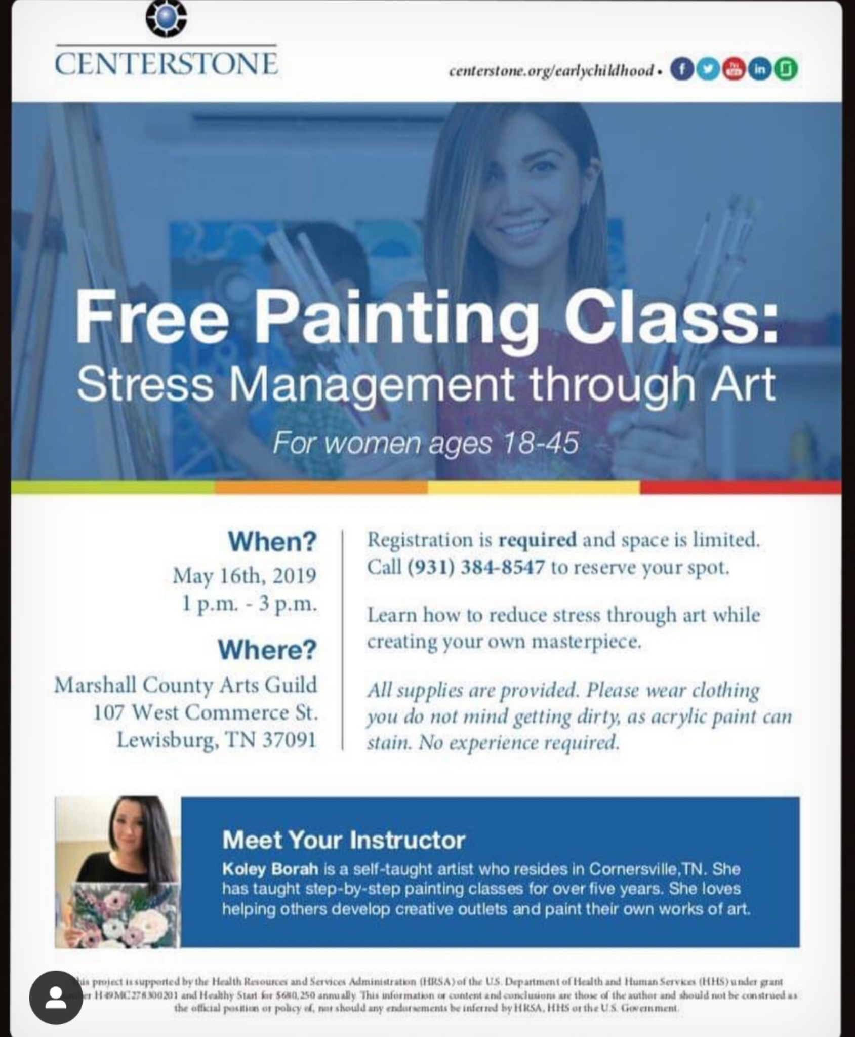 Art Guild Free Painting Class
