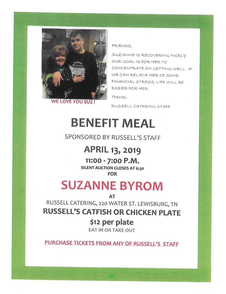 Benefit Suzanne Byrom