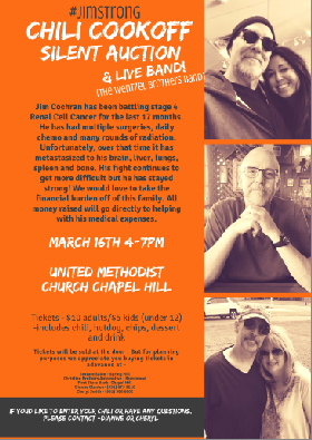 Benefit for Jim Cochran Small