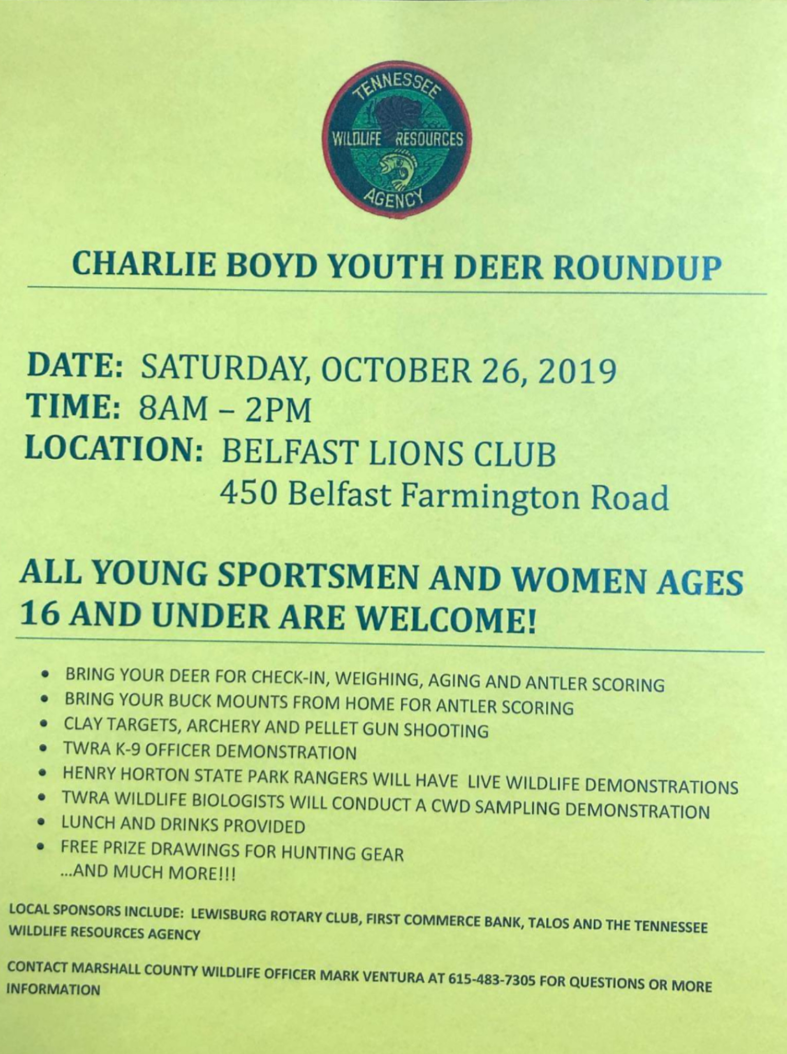 Deer Youth Hunt