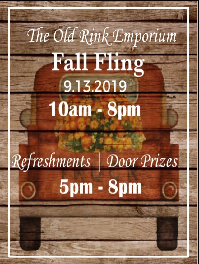 Fall Fling Old Rink