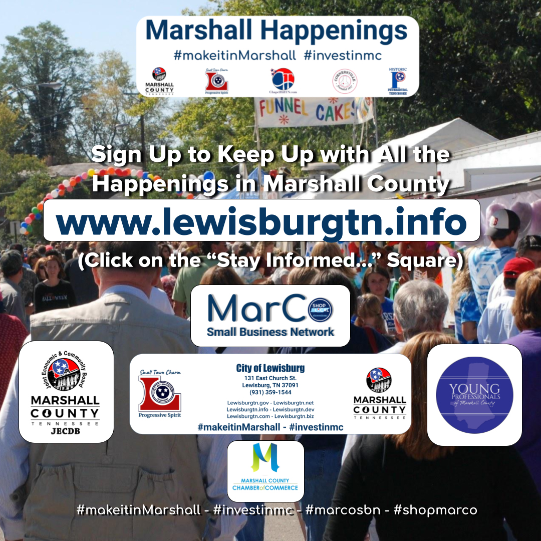 Marshall Happenings Social Card 030421
