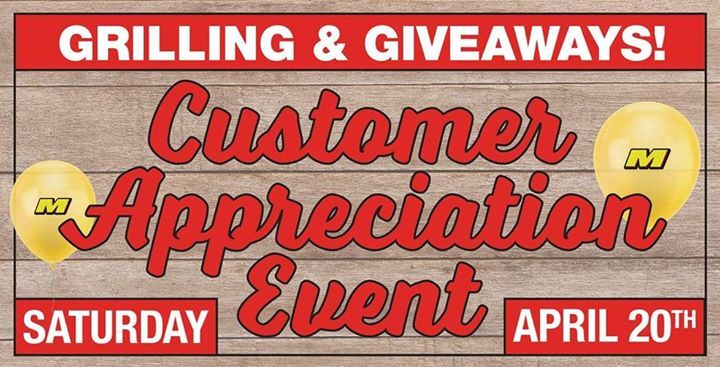 Marvins Customer Appreciation