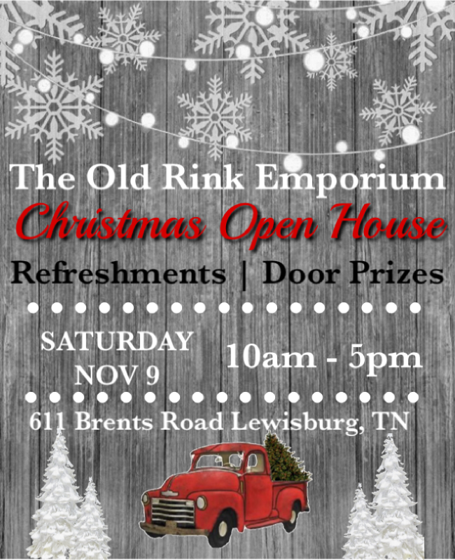 Old Rink Open House