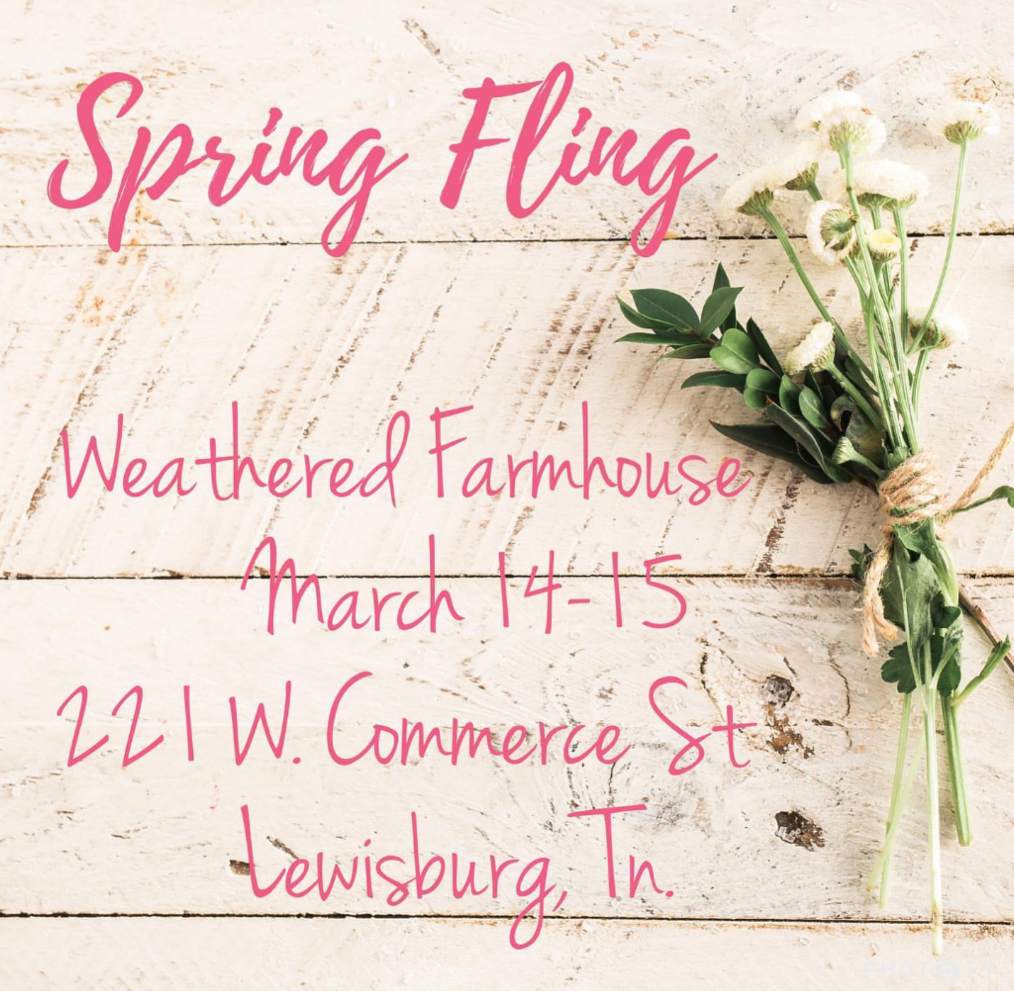 Weathered Farmhouse Spring Fling