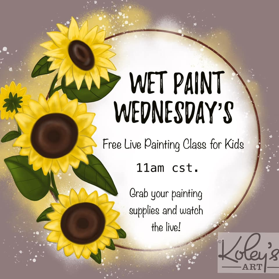Wet Paint Wed